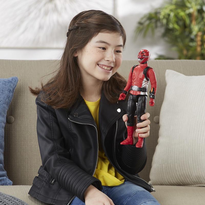 nuevos juguetes de Power Rangers