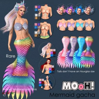 MOoH! Mermaid gacha