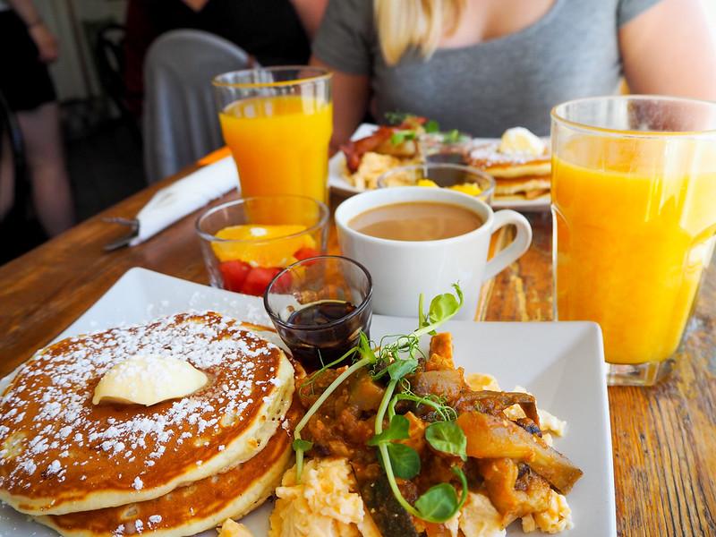 Cafe Pispala Pancake breku