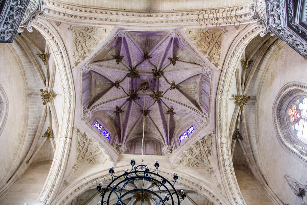 cimborrio planta poligonal interior Iglesia Monasterio San Juan de los Reyes Toledo 03