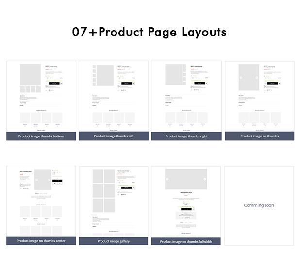 Vega - Supermarket Equipment & Sports Fashion PrestaShop Theme - multiple detail layouts