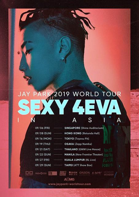 Jay Park SEXY 4EVA in Singapore