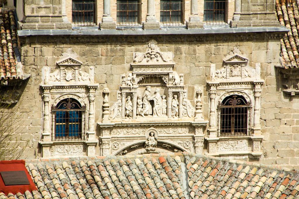 fachada renacentista Museo de Santa Cruz Toledo
