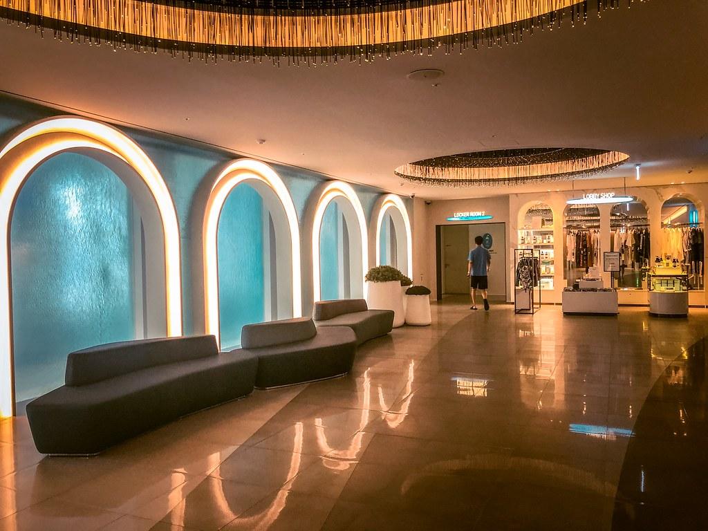 Cimer Spa's Main Lobby