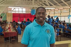Secondary District Education Officer, Sherwyn Blackman.