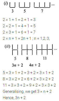 ML Aggarwal Class 7 Solutions for ICSE Maths Chapter 8 Algebraic Expressions Ex 8.4 Q1.1