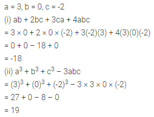 ML Aggarwal Class 7 Solutions for ICSE Maths Chapter 8 Algebraic Expressions Check Your Progress Q14