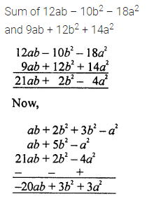 ML Aggarwal Class 7 Solutions for ICSE Maths Chapter 8 Algebraic Expressions Check Your Progress Q13
