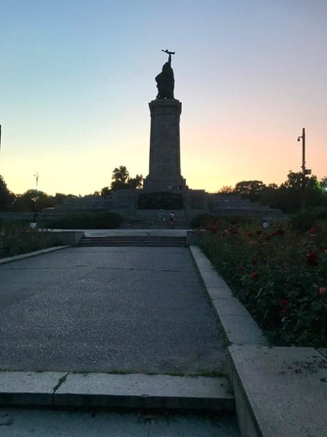 Sofia Паметник на Съветската армия
