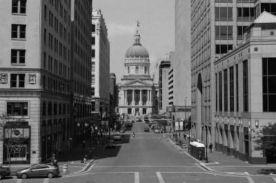 Market Street towards the Statehouse