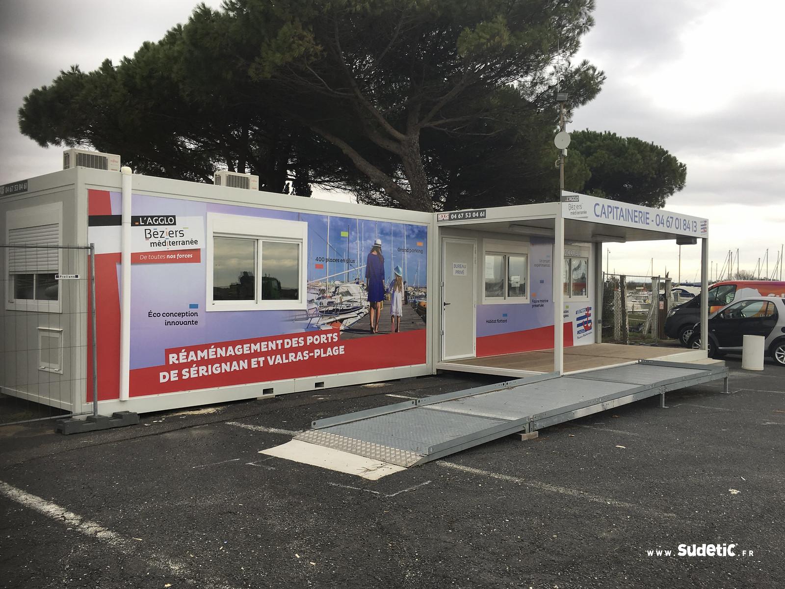 Sudetic Agglo Beziers Mediterranee port Serignan-5