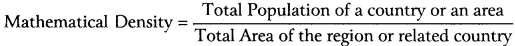 RBSE Solutions for Class 12 Geography Chapter 3 Population Distribution, Density and Growth 1