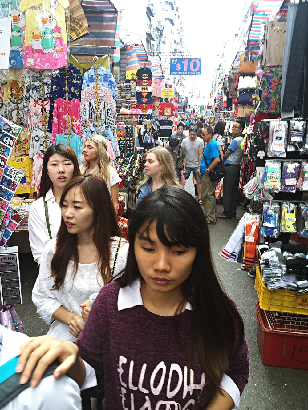 7 Nov 2015: Ladies Market | Mong Kok, Hong Kong