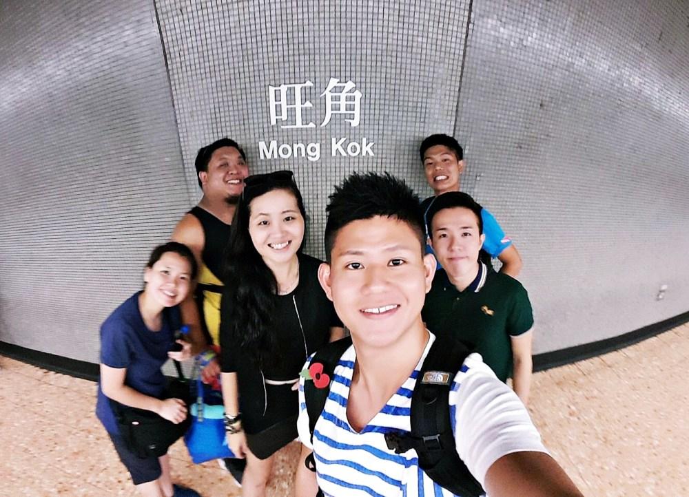 7 Nov 2015: Mong Kok MTR Station | Mong Kok, Hong Kong