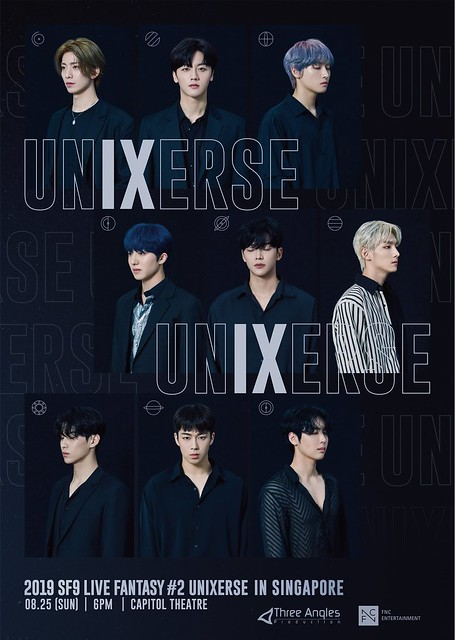 SF9 UNIXERSE Concert in Singapore