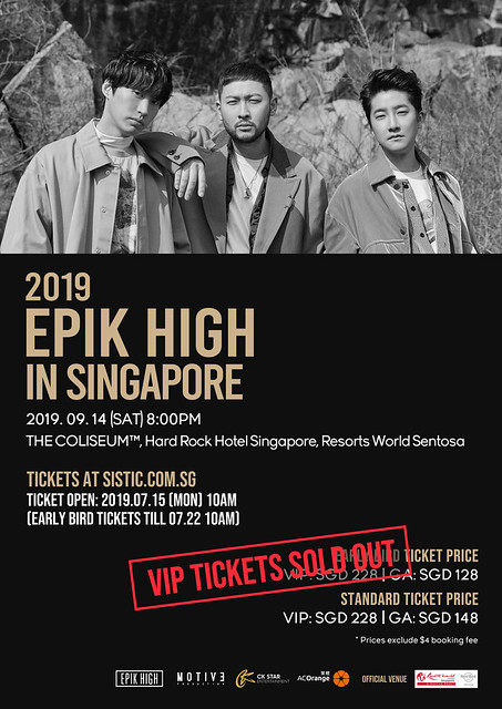 Epik High - VIP SOLD OUT