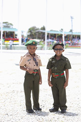 Youths in their uniform