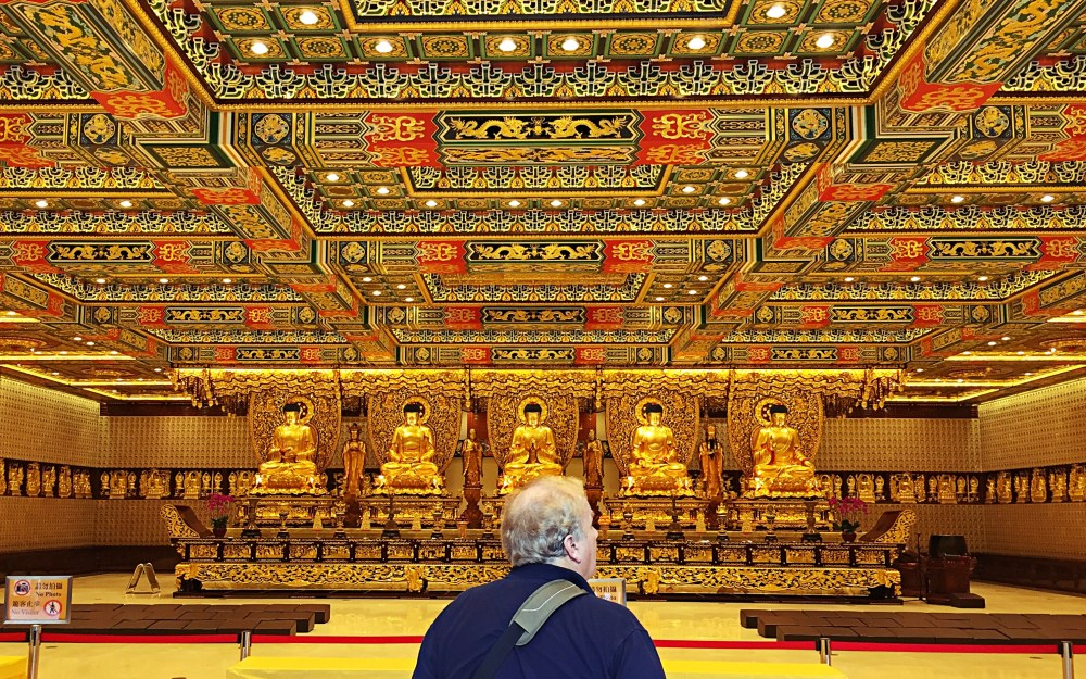 8 Nov 2015: Grand Hall of Ten Thousand Buddhas @ Po Lin Monastery | Lantau Island, Hong Kong