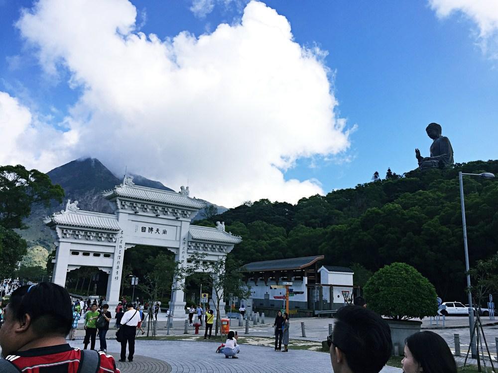 8 Nov 2015: Ngong Ping Piazza | Lantau Island, Hong Kong