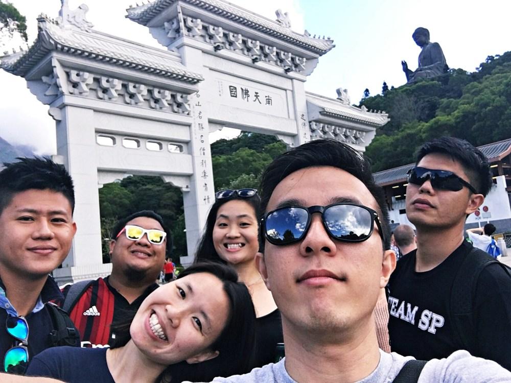 8 Nov 2015: Ngong Ping Piazza   Lantau Island, Hong Kong