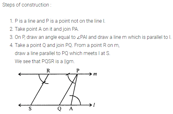 ML Aggarwal Class 7 Solutions for ICSE Maths Chapter 13 Practical Geometry Ex 13 Q3