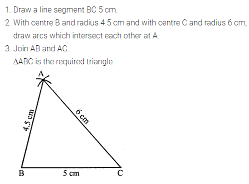 ML Aggarwal Class 7 Solutions for ICSE Maths Chapter 13 Practical Geometry Ex 13 Q4.1