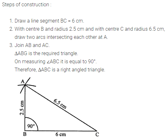 ML Aggarwal Class 7 Solutions for ICSE Maths Chapter 13 Practical Geometry Ex 13 Q7