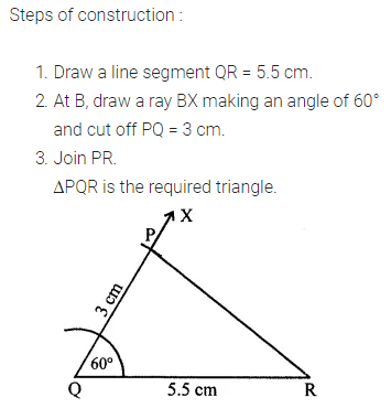 ML Aggarwal Class 7 Solutions for ICSE Maths Chapter 13 Practical Geometry Ex 13 Q8