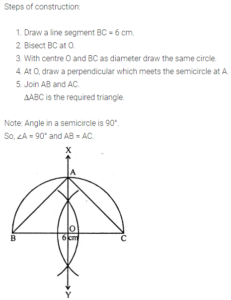 ML Aggarwal Class 7 Solutions for ICSE Maths Chapter 13 Practical Geometry Objective Type Questions Q2