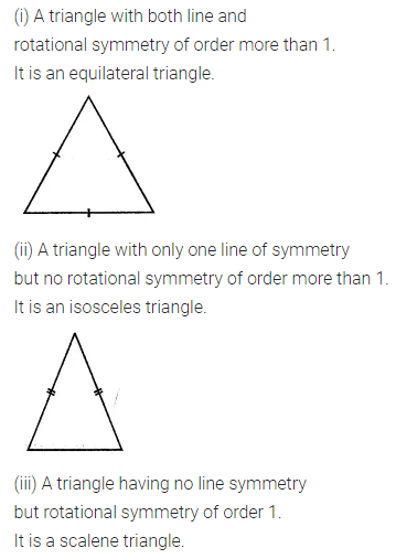 ML Aggarwal Class 7 Solutions for ICSE Maths Chapter 14 Symmetry Ex 14.2 Q5