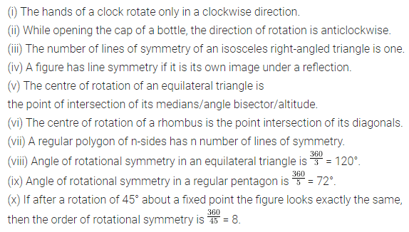 ML Aggarwal Class 7 Solutions for ICSE Maths Chapter 14 Symmetry Objective Type Questions Q1
