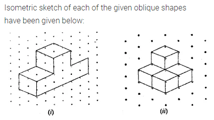 ML Aggarwal Class 7 Solutions for ICSE Maths Chapter 15 Visualising Solid Shapes Ex 15.2 Q4.1