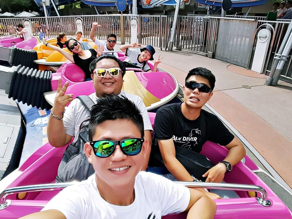 9 November 2015: Tomorrowland @ Hong Kong Disneyland | Lantau Island, Hong Kong