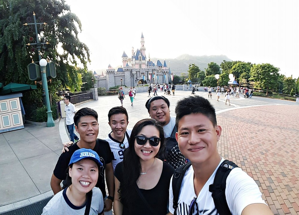 9 November 2015: Sleeping Beauty Castle @ Hong Kong Disneyland | Lantau Island, Hong Kong