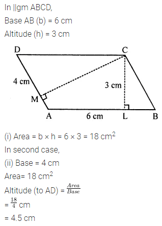 ML Aggarwal Class 7 Solutions for ICSE Maths Chapter 16 Perimeter and Area Ex 16.2 Q5.1