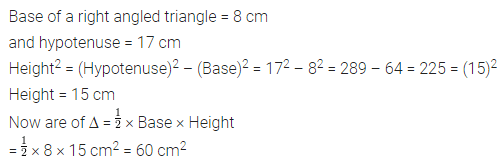 ML Aggarwal Class 7 Solutions for ICSE Maths Chapter 16 Perimeter and Area Ex 16.2 Q7