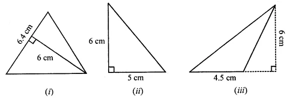 ML Aggarwal Class 7 Solutions for ICSE Maths Chapter 16 Perimeter and Area Ex 16.2 Q2