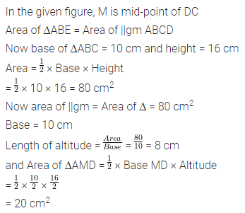 ML Aggarwal Class 7 Solutions for ICSE Maths Chapter 16 Perimeter and Area Ex 16.2 Q9.1