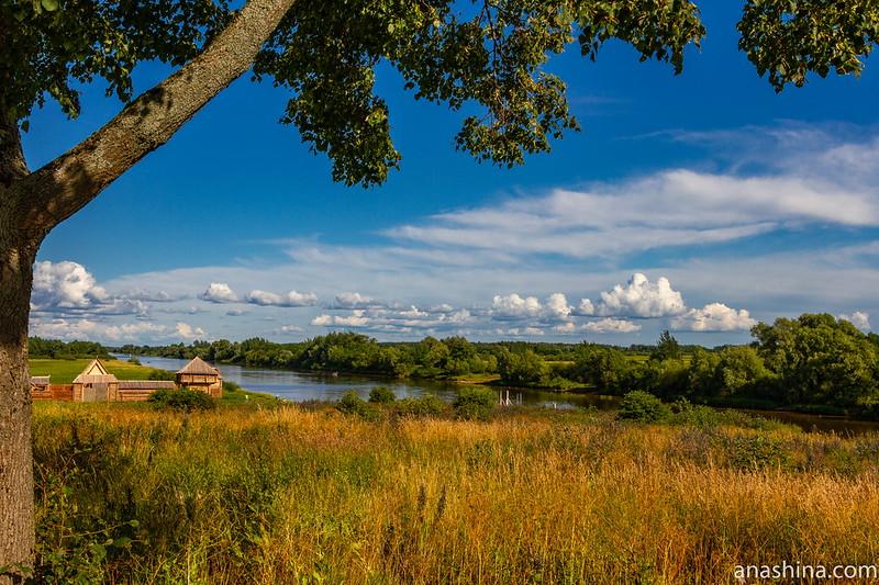 Рюриково городище, Великий Новгород, Сиверсов канал