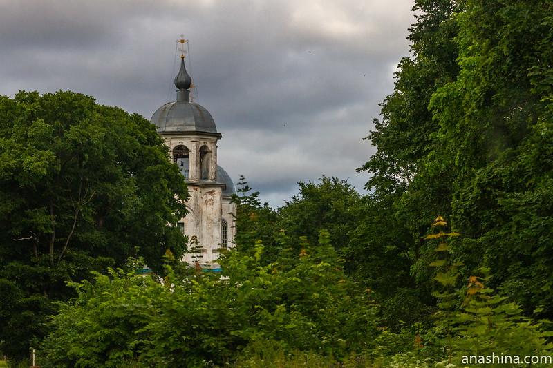 Церковь Успения Богородицы в Коростыни, Новгородская область