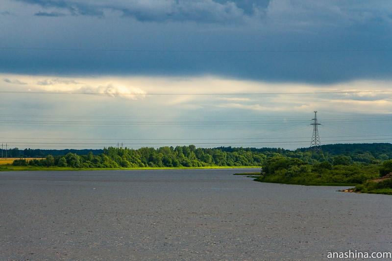 Река Шелонь, Новгородская область