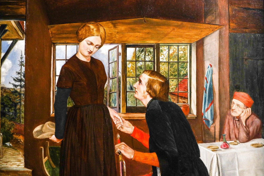 The Proposal, Frederic George Stephens