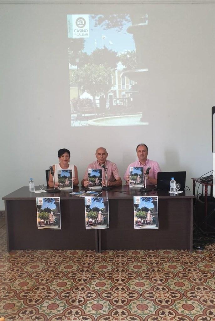 El Casino de Gáldar presentó el número 5 de su revista