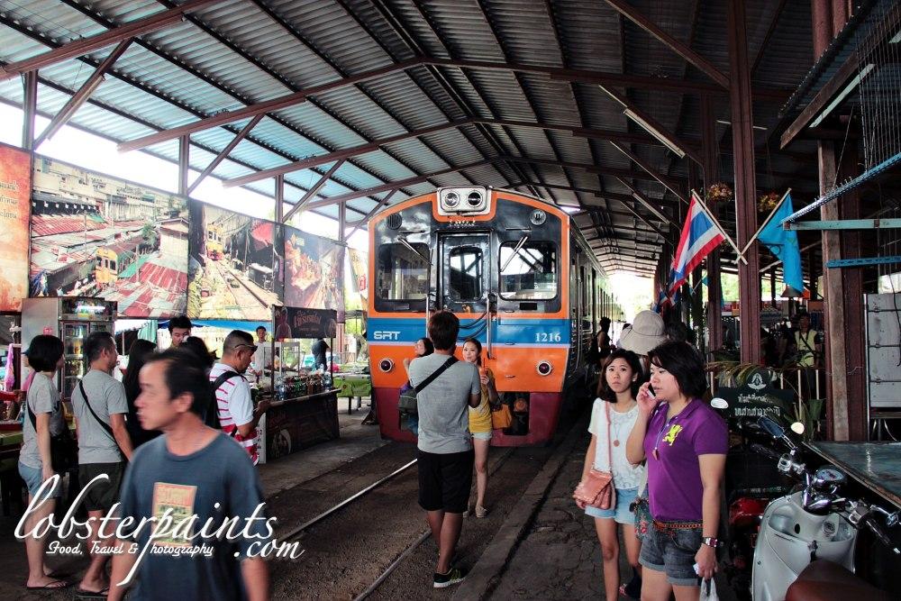Maeklong Railway Market | Bangkok, Thailand