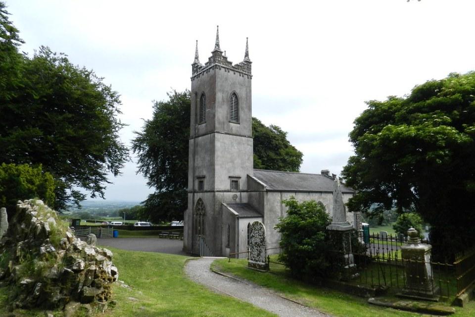 exterior Iglesia de San Patricio Colina de Tara Republica de Irlanda 02