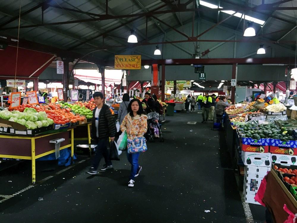 30 June 2016: Queen Victoria Market, Melbourne, Australia