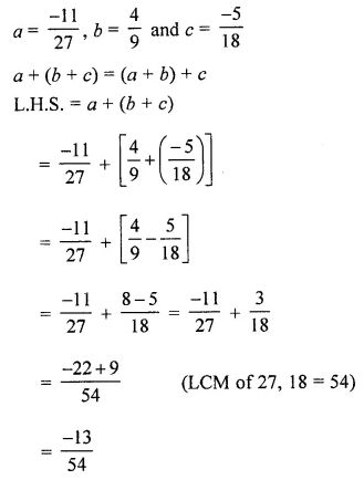 ML Aggarwal Class 8 Solutions Chapter 1 Rational Numbers Ex 1.1 Q8