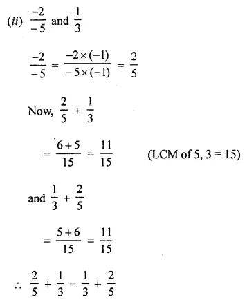 ML Aggarwal Class 8 Solutions for ICSE Maths Chapter 1 Rational Numbers Ex 1.1 Q3.2