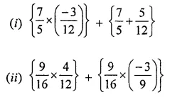 ML Aggarwal Class 8 Solutions for ICSE Maths Chapter 1 Rational Numbers Ex 1.3 Q9