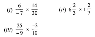 ML Aggarwal Class 8 Solutions Chapter 1 Rational Numbers Ex 1.3 Q1